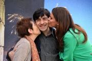 Foto/IPP/Gioia Botteghi 09/04/2013 Roma presentazione del film La città ideale, nella foto: luigi lo cascio, catrinel marlon, aida burruano