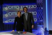 Foto/IPP/Gioia Botteghi 11/03/2013 Roma Alfio Marchini ospite di Lilli Gruber nella trasmissione 8 e mezzo de La7