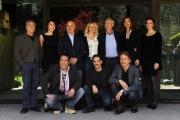 Foto/IPP/Gioia Botteghi 11/04/2013 Roma presentazione della fiction MONTALBANO, nella foto: il cast con il regista Alberto Sironi