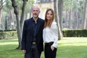Foto/IPP/Gioia Botteghi 17/04/2013 Roma presentazione del film VIAGGIO DA SOLA, nella foto la regista Maria Sole Tognazzi con il fratello Gian Marco