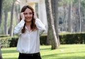 Foto/IPP/Gioia Botteghi 17/04/2013 Roma presentazione del film VIAGGIO DA SOLA, nella foto la regista Maria Sole Tognazzi