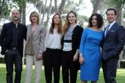 Foto/IPP/Gioia Botteghi 17/04/2013 Roma presentazione del film VIAGGIO DA SOLA, nella foto il cast