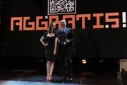 Foto/IPP/Gioia Botteghi 23/04/2013 Roma la nuova trasmissione di rai2 Aggratis 9 puntate dal 26/4, nella foto: Chiara Francini e Fabio Canino