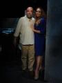 Foto/IPP/Gioia Botteghi 09/05/2013 Roma Barbara De Rossi presenta per rai tre Amore Criminale, ospite della puntata Giobbe Covatta