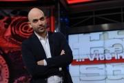 Foto/IPP/Gioia Botteghi 10/05/2013 Roma Roberto saviano è ospite della trasmissione di Corrado Augias Vite in polvere per rai tre