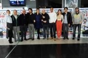 Foto/IPP/Gioia Botteghi 05/12/2013 Roma Presentazione  del film Fantastico via vai, nella foto : il cast