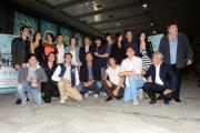 Foto/IPP/Gioia Botteghi 13/05/2013 Roma presentazione della fiction di mediaset COME UN DELFINO, nella foto: il cast
