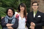 Foto/IPP/Gioia Botteghi 21/05/2013 Roma presentazione del film di animazione EPIC, nella foto le voci: Maria Grazia Cucinotta, Lillo e Greg