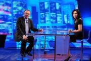 Foto/IPP/Gioia Botteghi Roma29/05/2013 Giorgio Squinzi intervistato nella seconda puntata di Next2 da Annalisa Bruchi per rai2