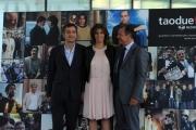 Foto/IPP/Gioia Botteghi Roma05/06/2013 Mediaset presentazioni novità 2013, nella foto: Pietro Valsecchi, Camilla Nesbitt, Alessandro Salem