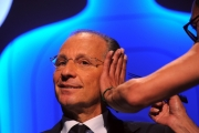 Foto/IPP/Gioia Botteghi Roma12/06/2013 puntata di IL BERSAGLIO la7 condotto da Enrico Mentana intervista Luigi Bisignani