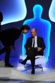 Foto/IPP/Gioia Botteghi Roma12/06/2013 puntata di IL BERSAGLIO la7 condotto da Enrico Mentana intervista Luigi Bisignani con il figlio