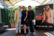 Foto/IPP/Gioia Botteghi Roma18/06/2013 Presentazione del film TULPA, nella foto: Claudia Gerini e Federico Zampaglione, Michele Placido