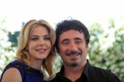 Foto/IPP/Gioia Botteghi Roma18/06/2013 Presentazione del film TULPA, nella foto: Claudia Gerini e Federico Zampaglione