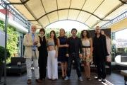 Foto/IPP/Gioia Botteghi Roma18/06/2013 Presentazione del film TULPA, nella foto: Claudia Gerini, Federica Vincenti, Crisula Stafida e Giulia Bertinelli, Faderico Zampaglione Michele Placido e Nuot Arquint