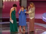 Foto/IPP/Gioia Botteghi 20/06/2013 Roma serata premio Bellisario, nella foto: Simona Izzo premia Franca Valeri