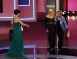 Foto/IPP/Gioia Botteghi 20/06/2013 Roma serata premio Bellisario, nella foto: Emma Bonino premia Murabit Alaa