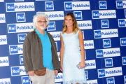 Foto/IPP/Gioia Botteghi 25/06/2013 Roma serata SIPRA, nella foto: Patrizio Roversi e Ingrid Muccitelli