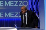 Foto/IPP/Gioia Botteghi 27/06/2013 Roma Francesco Gaetano Caltagirone ospite della trasmissione di Lilly Gruber Otto e mezzo La7