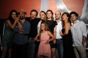 Foto/IPP/Gioia Botteghi 26/07/2013 Roma  Presentazione della fiction Ombrelloni, raidue nella foto:il cast