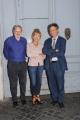 Foto/IPP/Gioia Botteghi 05/09/2013 Roma Presentazione della nuova edizione della trasmissione  de La7, Otto e Mezzo, con Lilly Gruber con Paolo Pagliaro e Paolo Ruffini direttore de la 7