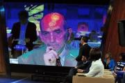 Foto/IPP/Gioia Botteghi 10/09/2013 Roma Ballaro prima puntata, nella foto: Giovanni Floris, Quirico in collegamento