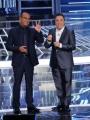 Foto/IPP/Gioia Botteghi 13/09/2013 Roma Tali e Quali Show prima puntata, nella foto: Carlo Conti e Gabriele Cirilli