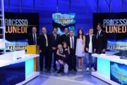 Foto/IPP/Gioia Botteghi 16/09/2013 Roma il processo del lunedi, nelle foto:  Enrico Varriale ed il cast