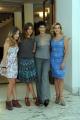 Foto/IPP/Gioia Botteghi 23/09/2013 Roma visita sul set del film TUTTA COLPA DI FREUD, nella foto: Laura Adriani, Vittoria Puccini, Anna Foglietta, Claudia Gerini