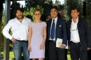 Foto/IPP/Gioia Botteghi 27/09/2013 Roma presentata in rai la nuova serie di REPORT rai tre nella foto: Sigfrido Ranucci, Milena Gabanelli, Andrea Vianello, Bernardo Jovene