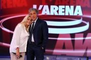 Foto/IPP/Gioia Botteghi 29/09/2013 Roma L' Arena ,  Massimo Giletti e Mara Venier