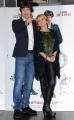 Foto/IPP/Gioia Botteghi 07/10/2013 Roma  presentazione del film ASPIRANTE VEDOVO, nella foto Fabio De Luigi con Luciana Littizzetto