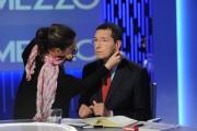 Foto/IPP/Gioia Botteghi 17/10/2013 Roma  Il sindaco di Roma Ignazio Marino ospite della trasmissione di Lilly Gruber Otto e mezzo su la7