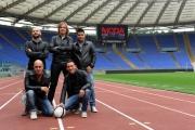 Foto/IPP/Gioia Botteghi 24/10/2013 Roma  Presentazione del concerto che ci sarà l'11 luglio dei Modà allo stadio olimpico di Roma