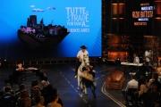 Foto/IPP/Gioia Botteghi 26/10/2013 Roma  Maurizio Battista nella sua trasmissione di rai due in onda da novembre in prima serata TUTTE LE STRADE PORTANO A...