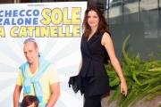 Foto/IPP/Gioia Botteghi 29/10/2013 Roma  presentazione del film sole a catinelle, nella foto Aurore Erguy