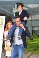 Foto/IPP/Gioia Botteghi 29/10/2013 Roma  presentazione del film sole a catinelle, nella foto Checco Zalone con  Miriam Dalmazio, Robert Dancs