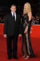 Foto/IPP/Gioia Botteghi 08/11/2013 Roma Festa del Cinema di Roma 1g, nella foto: Valeria Marini con il marito