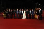 Foto/IPP/Gioia Botteghi 08/11/2013 Roma Festa del Cinema di Roma 1g, nella foto: Tutto il cast del film L'ultima Ruota del carro