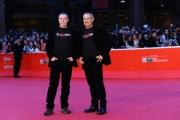 Foto/IPP/Gioia Botteghi 14/11/2013 Roma Festa del Cinema di Roma 7g, nella foto:  film Capo e croce, i registi Marco Antonio Pani e Paolo Carboni