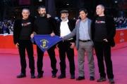 Foto/IPP/Gioia Botteghi 14/11/2013 Roma Festa del Cinema di Roma 7g, nella foto:  film Capo e croce, i registi Marco Antonio Pani e Paolo Carboni , con i pastori sardi