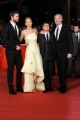 Foto/IPP/Gioia Botteghi 14/11/2013 Roma Festa del Cinema di Roma 7g, nella foto:  film Hunger Game, Liam Hemsworth, Jennifer Lawrence, Josh Hutcherson, il regista Francis Lawrence
