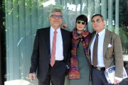 Foto/IPP/Gioia Botteghi14/11/2013 Roma presentazione del nuovo programma di raidue MASTERPIECE, nella foto:  Giancarlo De Cataldo,  Elisabetta Sgarbi, Andrea Vianello
