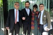 Foto/IPP/Gioia Botteghi14/11/2013 Roma presentazione del nuovo programma di raidue MASTERPIECE, nella foto:  Giancarlo De Cataldo, Massimo Coppola, Elisabetta Sgarbi, Andrea Vianello