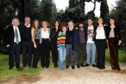 Foto/IPP/Gioia Botteghi 19/11/2013 Roma Presentazione della fiction rai IL BAMBINO CATTIVO, nella foto : il cast