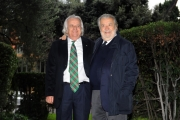 Foto/IPP/Gioia Botteghi 19/11/2013 Roma Presentazione della fiction rai IL BAMBINO CATTIVO, nella foto : i fratelli Avati