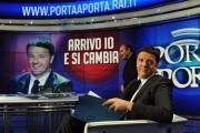 Foto/IPP/Gioia Botteghi 03/12/2013 Roma Renzi a Porta a porta