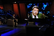 Foto/IPP/Gioia Botteghi 10/12/2013 Roma intervista faccia a faccia con Matteo Renzi ospite della trasmissione di Giovanni Floris BALLARO'