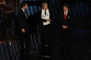 Foto/IPP/Gioia Botteghi 13/12/2013 Roma Fernando Alonso e Luca Cordero ospite della trasmissione rai per Telethon io esisto con Fabrizio Frizzi