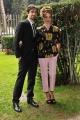 Foto/IPP/Gioia Botteghi 20/12/2013 Roma presentazione della fiction rai uno UN Matrimonio, nella foto: Micaela Ramazzotti e Flavio Parenti